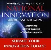 National Innovation Summit and Showcase 2013, Washington, DC