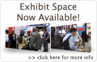 Click here for more info on Available Exhibit Space