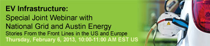 EV Infrastructure: Special Joint Webinar with National Grid and Austin Energy