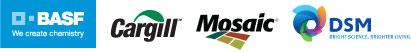 BASF, Cargill, Mosaic, DSM