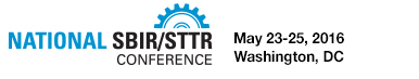 SBIR-STTR Innovation Summit, May 23-25, 2016, Washington, DC