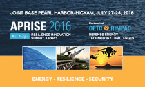 APRISE 2016 Asia Pacific Resilience Summit and Expo
