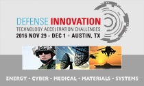 Defense Innovation Technology Acceleration Challenges - Nov. 29-Dec. 1, 2016, Austin, TX