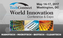 TechConnect World Conference and Expo - May 14-17, 2017 - Washington, DC